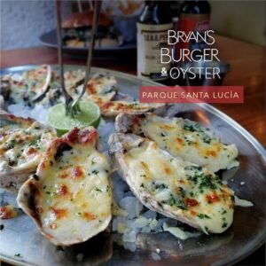 Bryans Burger Bar Platillo