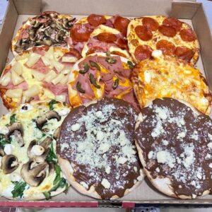 Casera Pizza menu