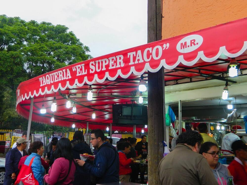 El Super Taco Logo Portada