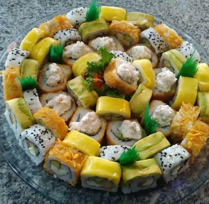 Maketto sushi Menu