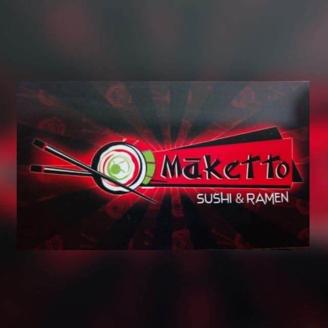 Maketto sushi logo