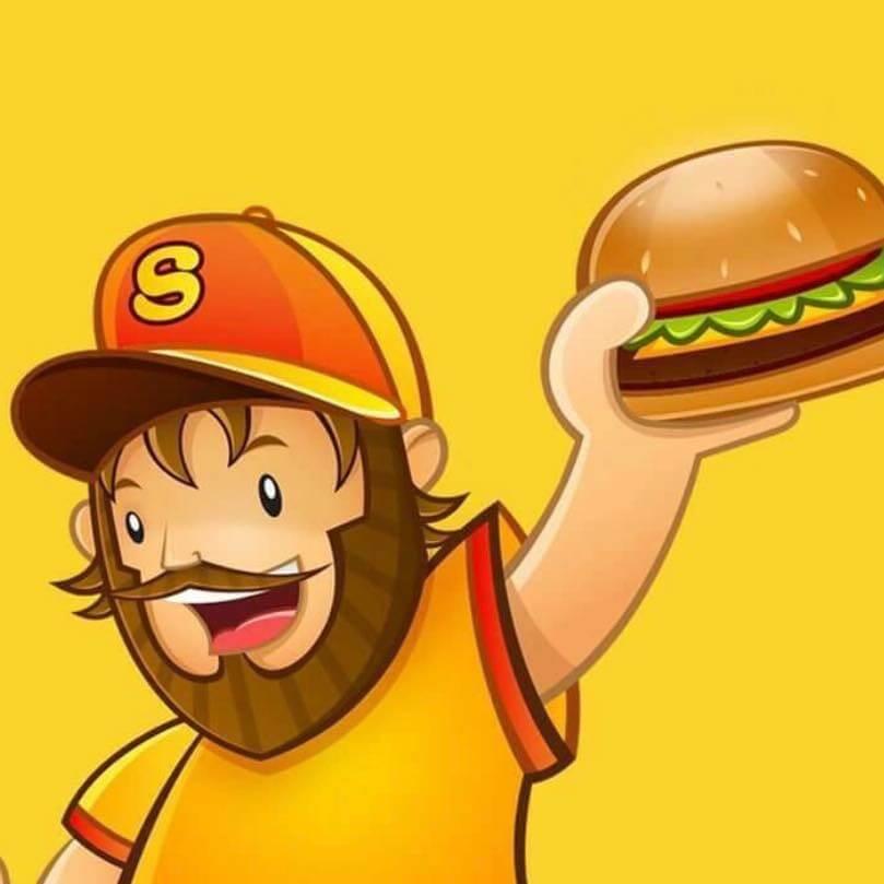 Scott's Burger Logo